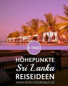 Sri Lanka Reiseideen © B&N Tourismus