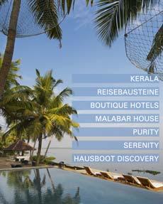 Kerala Malabar Escapes Reiseideen © B&N Tourismus