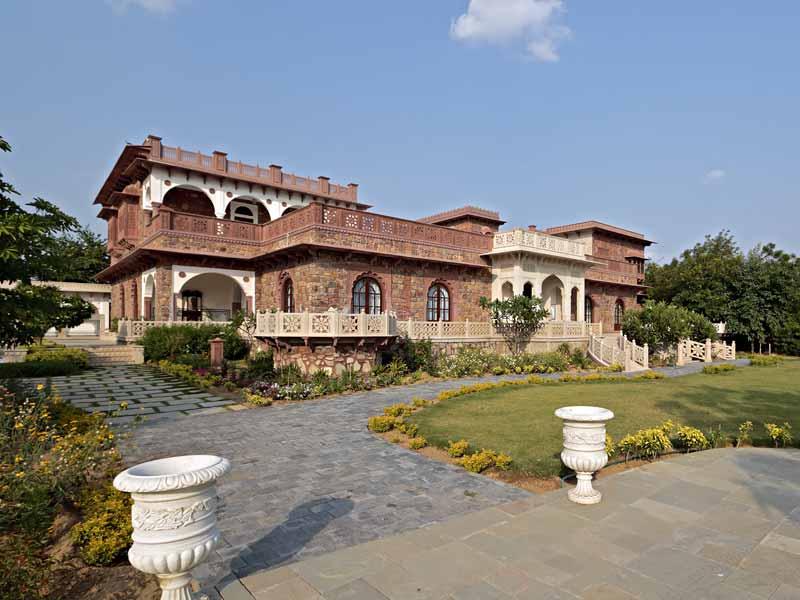 Außenansicht © Hotel Khas Bag Jaipur