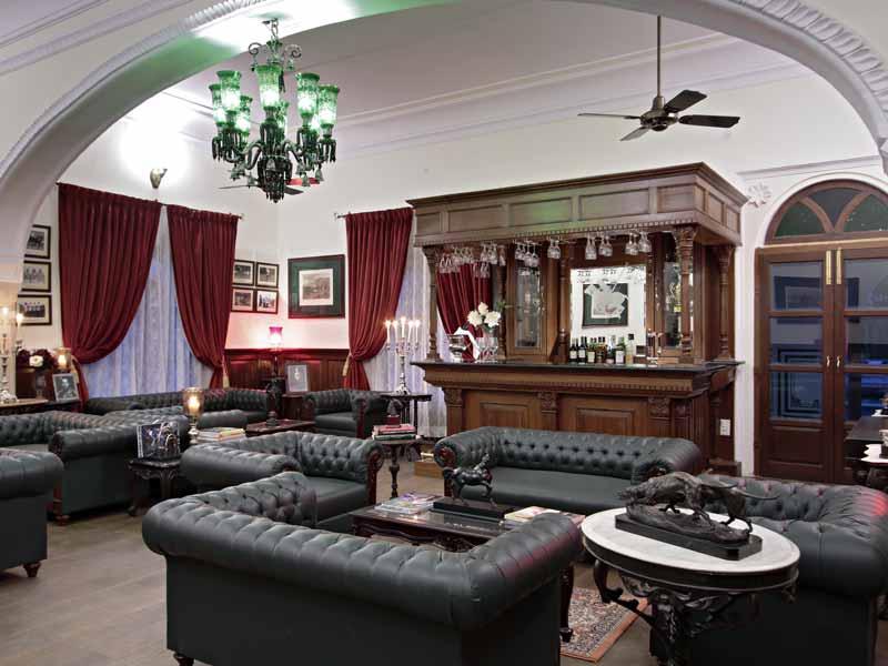 Polo Lounge © Hotel Khas Bag Jaipur